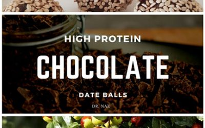 High Protein Chocolate Date Balls