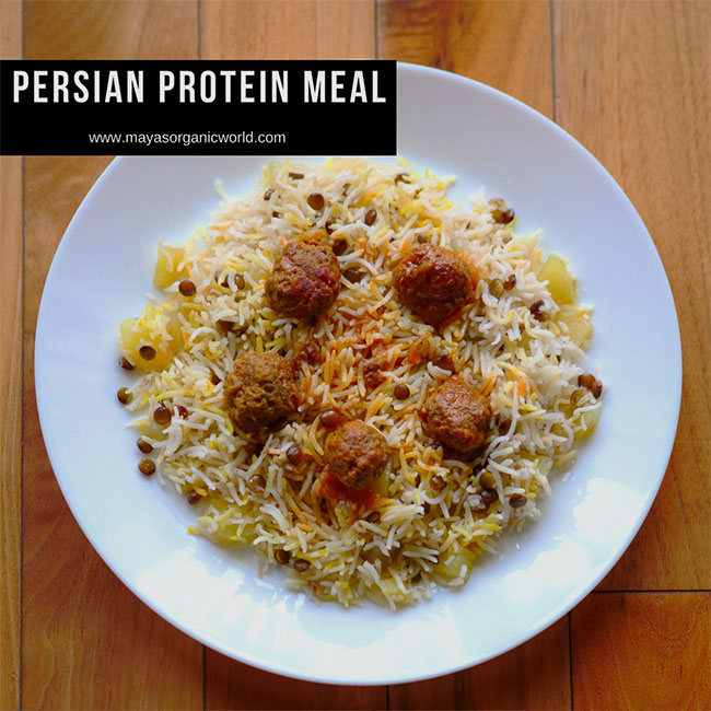 Persian Protein Meal