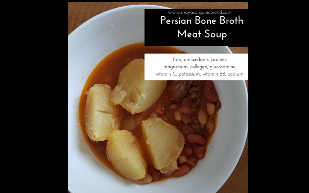 Persian Bone Broth, Meat Soup